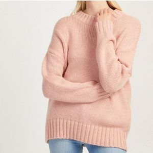 French Connection SNUGGLE KNIT CREW Sweater Large